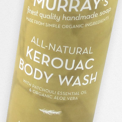 Kerouac Body Wash in all-natural Body Wash
