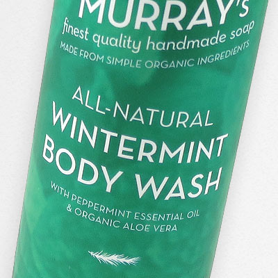 Wintermint Body Wash in all-natural Body Wash