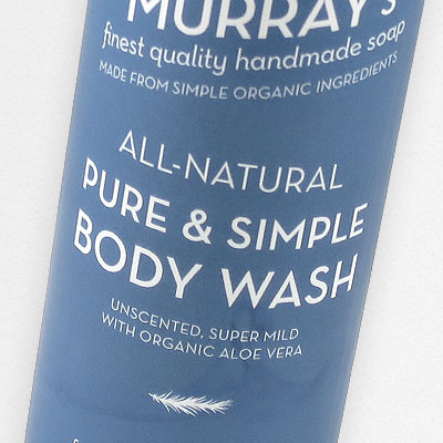 Pure & Simple Body Wash in all-natural Body Wash