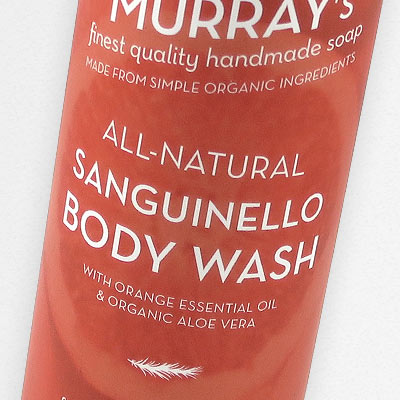 Sanguinello Body Wash in all-natural Body Wash